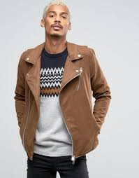 pull bear faux suede biker jacket in tan men jackets pull bear jacket in faux leather pull bear parka in camo with hood uk