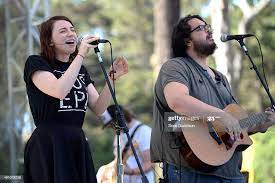 Singers Maggie Heath and Tyler Heath of The Oh Hellos perform onstage...  News Photo - Getty Images