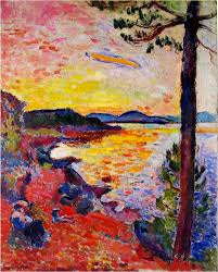by the sea golf of saint trope henry matisse 1904