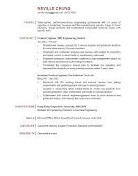 Product Engineer Resume Resume For Your Job Application