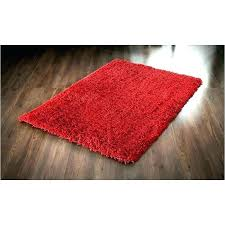 red circle rug