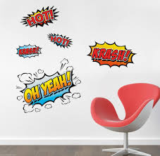 Wandtattoo Comic Sprüche Wand Deko Set Kinderzimmer W Real