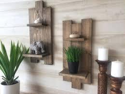 northern oaks decor co farmhouse style shelves diy wood pallet shelf set of two farmhouse shelf brackets shelves decor