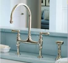 Rohl Faucets U 4719L Rohl Faucets ROHL BRIDGE KITCHEN FAUCET WITH