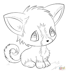 Small Picture Anime Animals coloring pages Free Coloring Pages