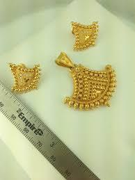 22k gold pendant set 12 7 grams style no golpen26 760 00