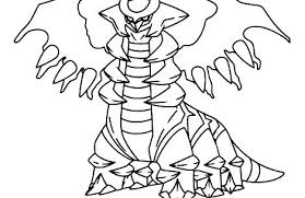 Legendary And Mythical Pokemon Coloring Pages Printable Coloring