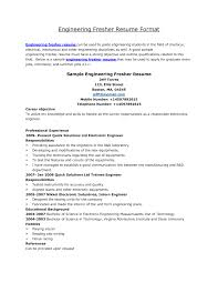 Job Resume Format Free Download general resume objective ...