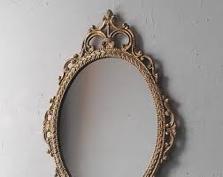 Gold mirror <b>vintage</b> | Etsy