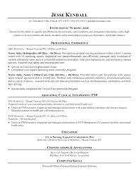 Nursing Professional Resume Certified Emergency Nurse Experienced ...