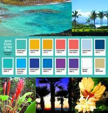 Trying to match some tropical colors together.