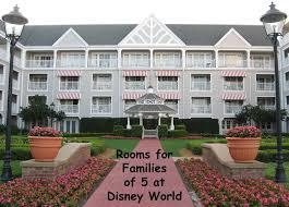 disney world resorts for a family of 5