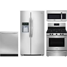 Gas Kitchen Appliance Packages Frigidaire Gallery 4 Piece Kitchen Package With Dggf3045rf Gas