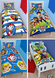 these official paw patrol bedding sets comprise 1 x duvet cover 1 x pillowcase