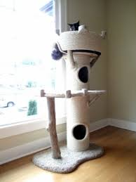 modern cat tree furniture. royal meow cat tree tower or castle modern furniture