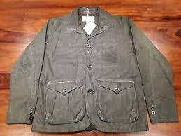 Filson Jacket Size Chart Filson Mens Jacket Style 460n Xl Oil Tin Cloth Field Hunting