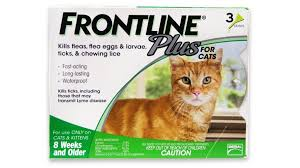 Frontline Plus For Cats Dosage Fleascience