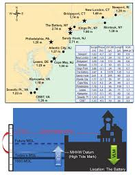 1 A Hurricane Sandys Impact Levels Above Mhhw At Noaa