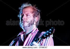 BARCELONA, SPAIN - JULY 27: Justin Vernon, singer of Bon Iver ...