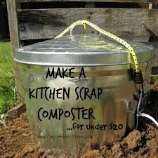 make a kitchen s composter for under 20 preparednessmama