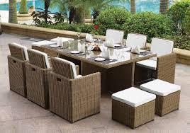 11 pieces patio dining sets outdoor