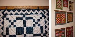 how do you hang a quilt on the wall