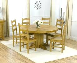 home light oak and black inch round dining table free today wood chairs