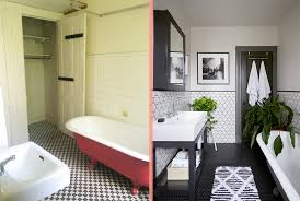 Acs Designer Bathrooms Impressive Before After A Brooklyn Apartment Gets A VintageInspired