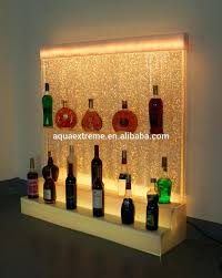 wine rack lighting. Wine Rack Lighting Led With Color Changing And Dancing Water Bubble