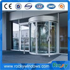 china new design glass revolving door for hotel airport ping mall hospital china glass door aluminum profile