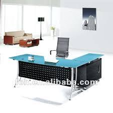 incredible office furnitureveneer modern shaped office. Office Table Glass Top Blue Modern Furniture Techni Mobili Incredible Furnitureveneer Shaped E