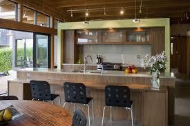 Modern Interior Design Living Room With Kitchen Stock Image Modern Interior Kitchen Design