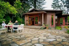 Contemporary Loose Flagstone Patio And On Pinterest R To Design Inspiration