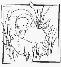 Kleurplaat Baby Meisje Afbeelding Baby Kleurplaten Fris Baby