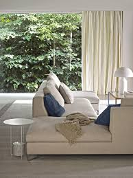 Living Room Design: 16 Blue Cushions - Footstools