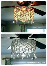 fan light shades light globe light globes way ceiling fan chandelier made from rings wired to