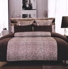 brown duvet cover set