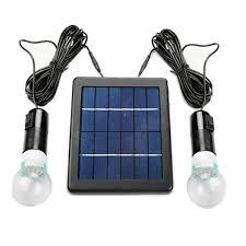 24W Solar Panel Lighting Kit For Shed Stable Workshop Garage Solar Garage Lighting