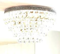 mini flush mount chandelier small flush mount