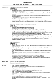 Insurance Processor Resume Data Template Sample Free Of Entry Photos ...