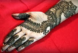 Front Hand Arabic Mehndi Designs For Stylish Girls Women Simple