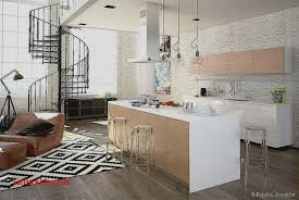 Deco Cuisine Noir Et Gris Luxe Amenagement Salon Sejour Cuisine élégant  Best Idee De Deco Salon