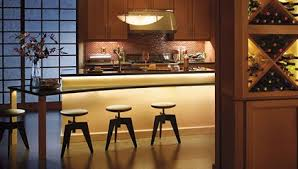 Under the counter lighting Puck Lights Wire Craft Electric Cabinet Stripbar Light