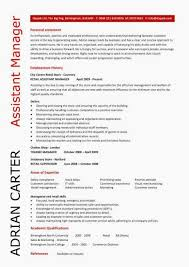 assistant manager skills assistant store manager resume elegant retail assistant manager