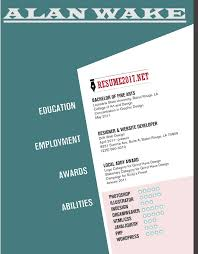 Eye Catching Resumes Beauteous 48 Resume Templates 4817 To WIN