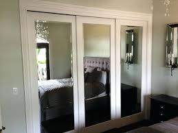 mirror closet doors bifold ideas to update mirrored