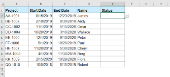 How To Highlight Rows Based On Drop Down List In Excel