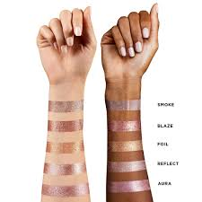 Hourglass Scattered Light Swatches Review Hourglass Scattered Light Glitter Eye Shadows