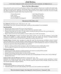 Sample Car Sales Resume Nikrme Best Car Sales Resume