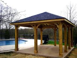 Garden DIY Patio Roof Diy Stand Alone Patio Cover Inspiration